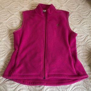 Lilly Pulitzer fleece vest